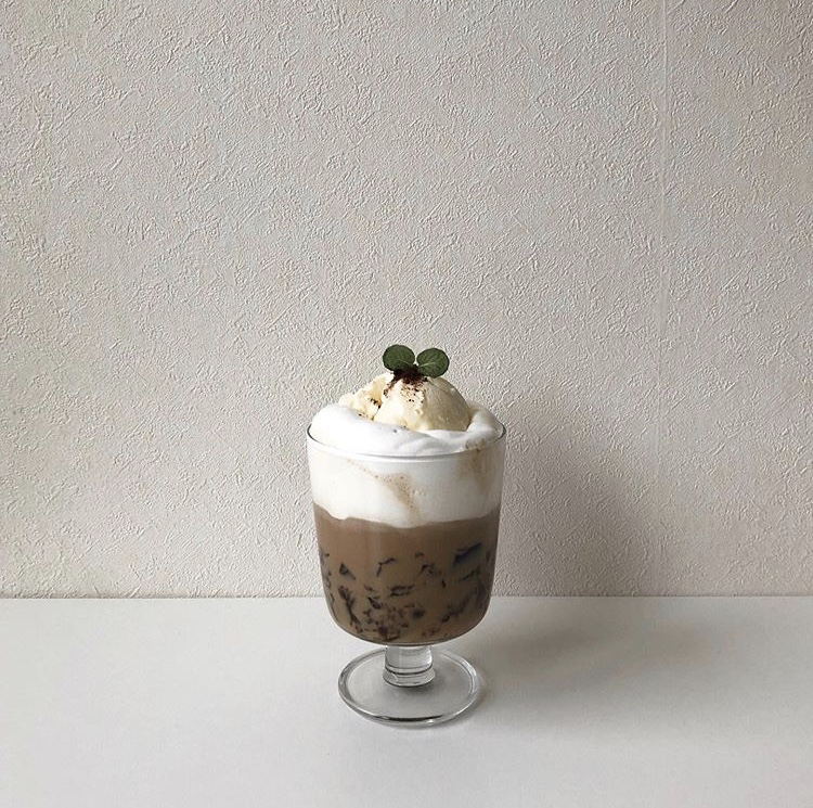 Coffee Jelly Recipes - chocolate drink with coffee jelly