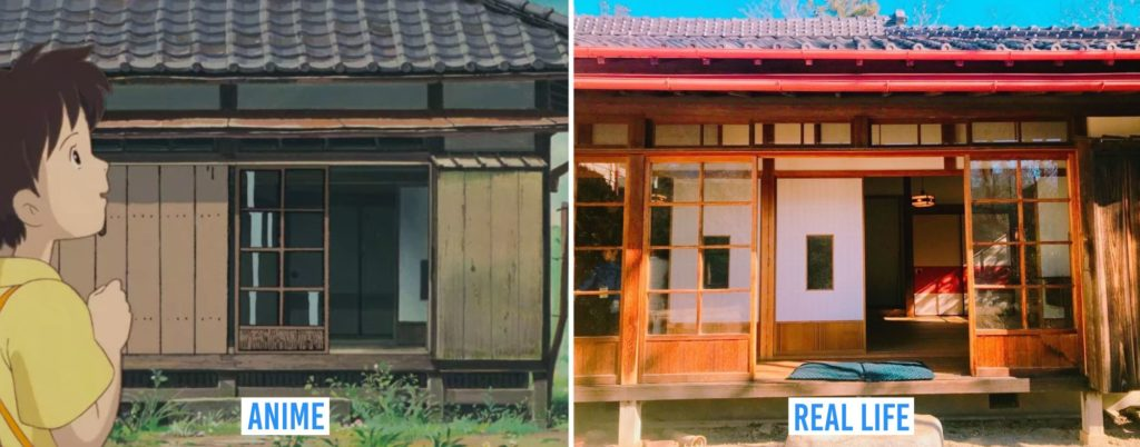 Real Life Anime Locations - Satsuki and Mei's house