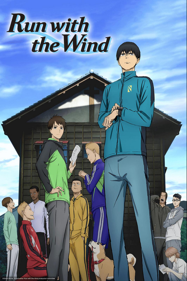 Sports anime besides Haikyuu!! - Run with the wind poster