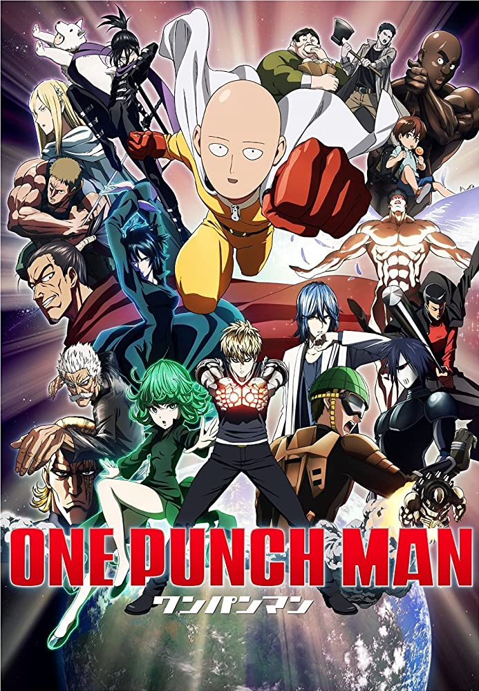 anime-inspired exercises - one punch man saitama
