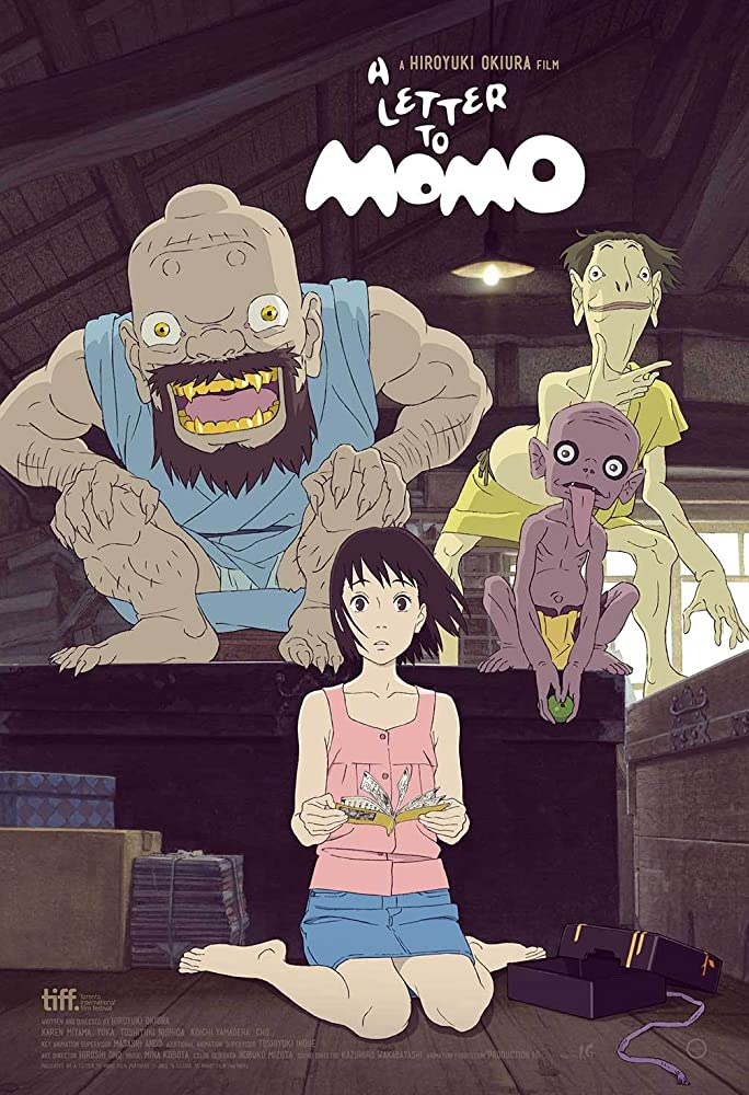 Japanese animated films - letter to momo