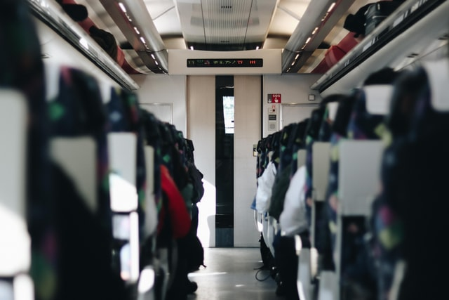 Japanese hospitality - carriage of shinkansen