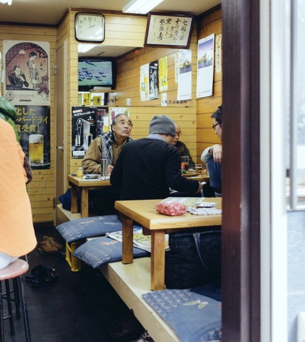 Japanese hospitality - dining at a shokudo