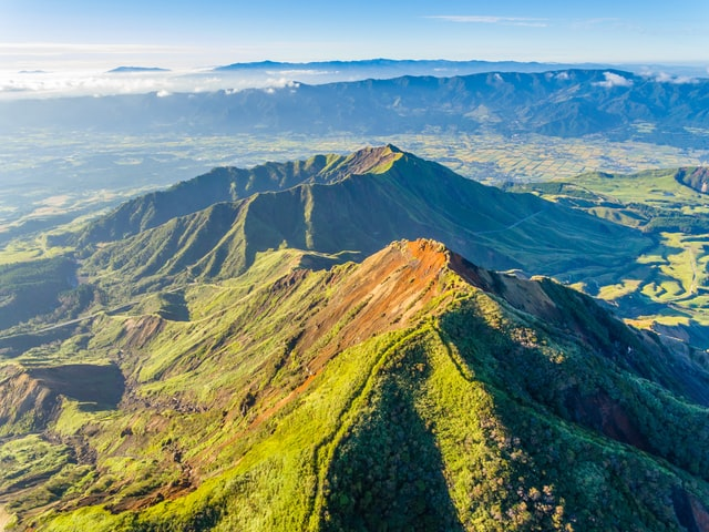 Mountains in Japan - mount aso