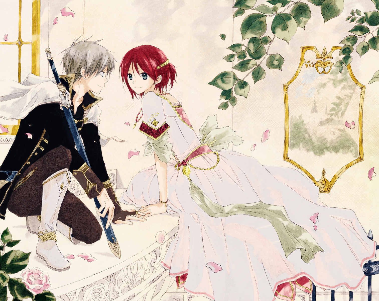 Romance Manga 17 - snow white with the red hair
