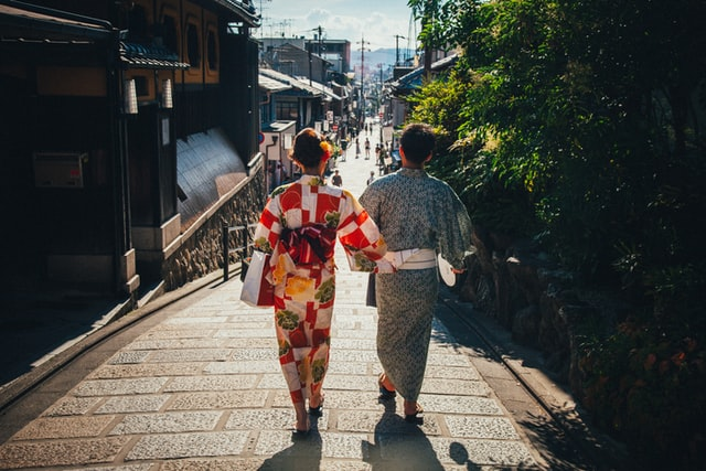 Things to do in Japan in summer - couple wearing yukata
