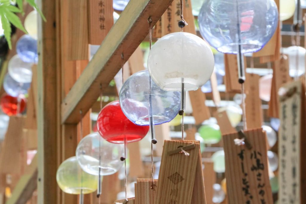 Things to do in Japan in summer - japanese wind chime