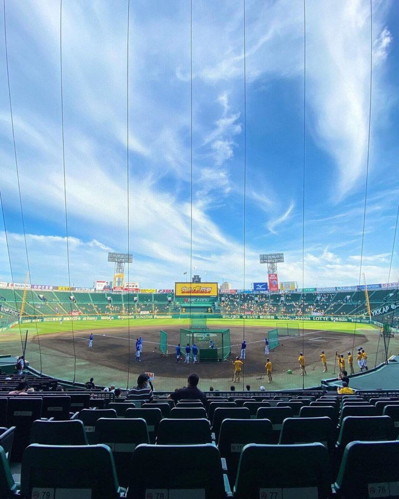 Things to do in Japan in summer - koshien stadium in Japan
