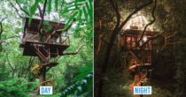 New Luxury Eco-Resort In Okinawa Lets You Glamp In The Trees With 360° Views Of The River And Skies