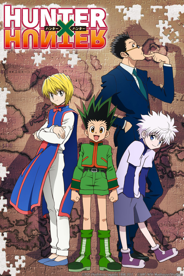 Anime reboots - hunter x hunter