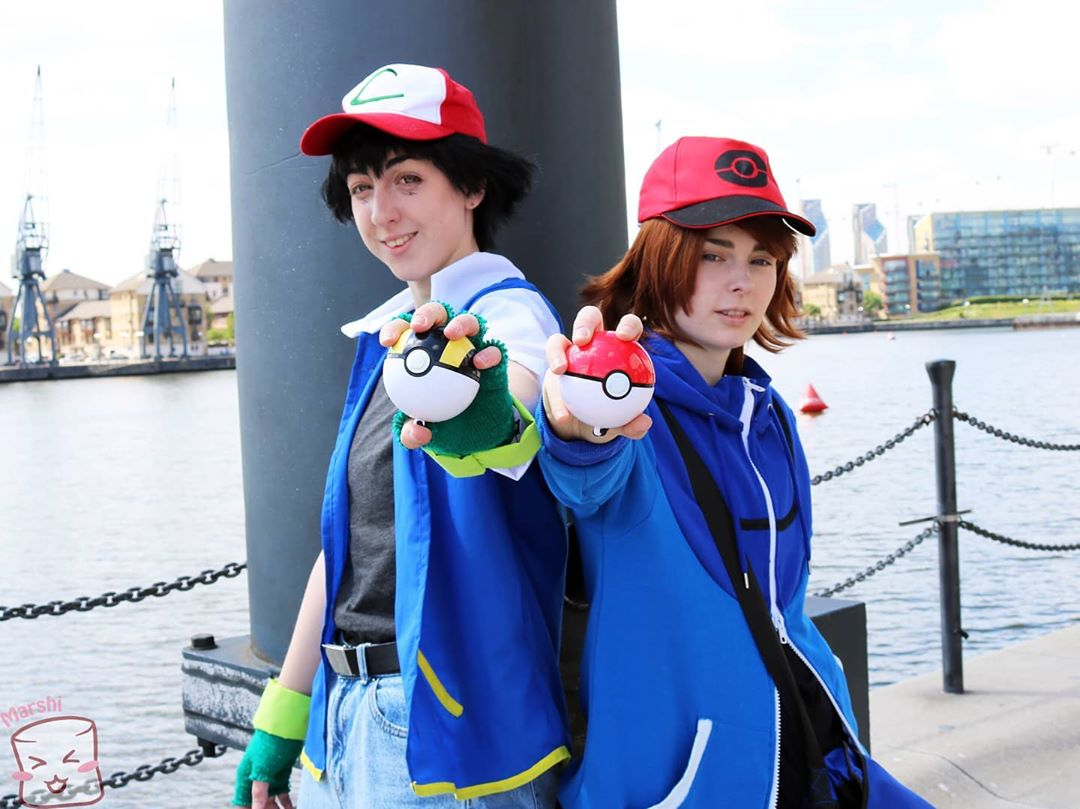 anime halloween costume - ash ketchum