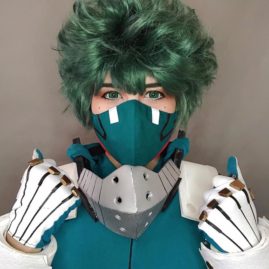 anime halloween costume - deku