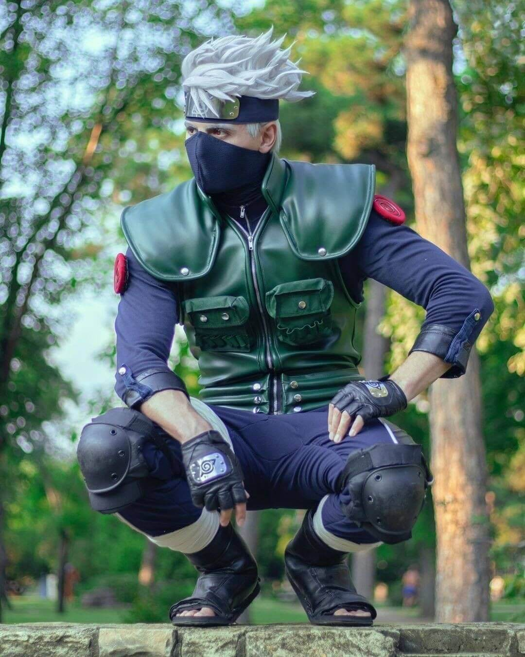 anime halloween costume - kakashi