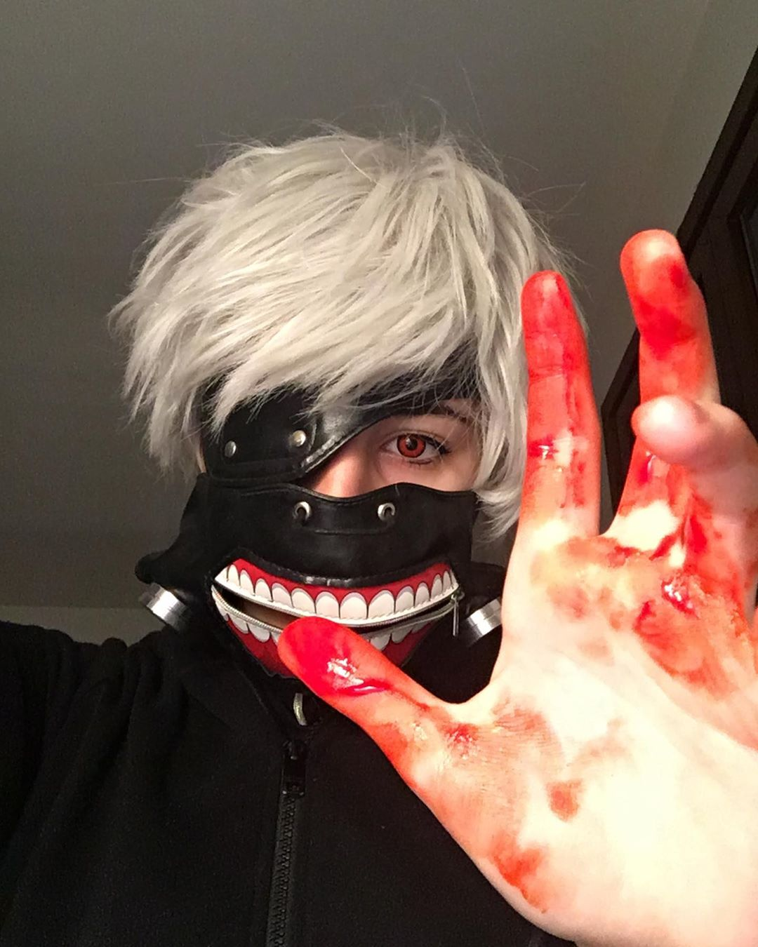 anime halloween costume - ken kaneki