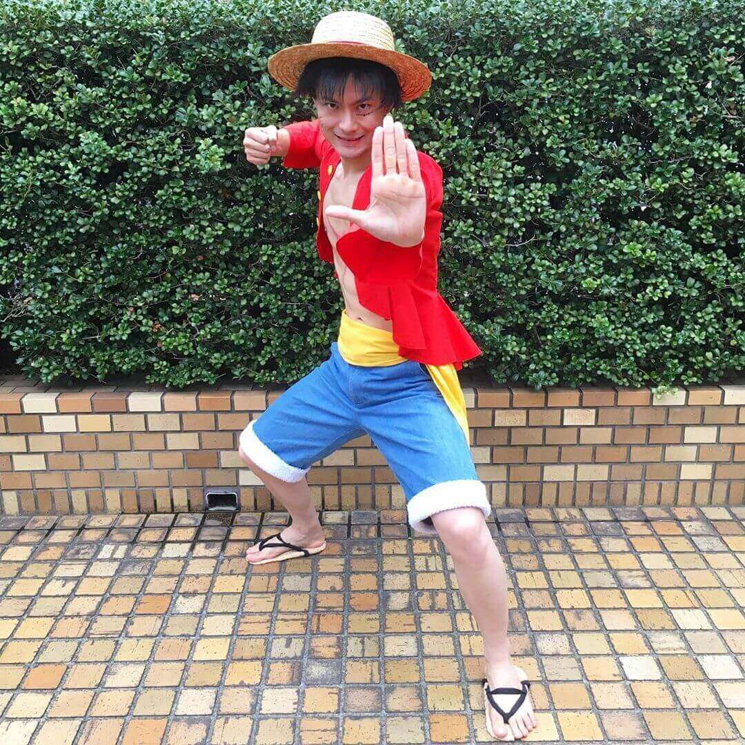 anime halloween costume - luffy