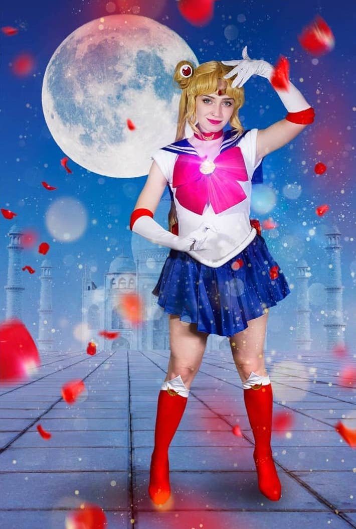 anime halloween costume - sailor moon