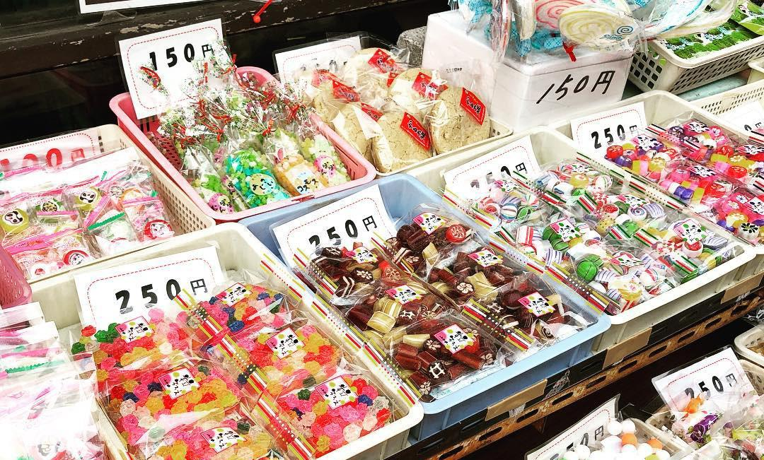 kawagoe - traditional sweets