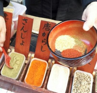 kawagoe - making shichimi