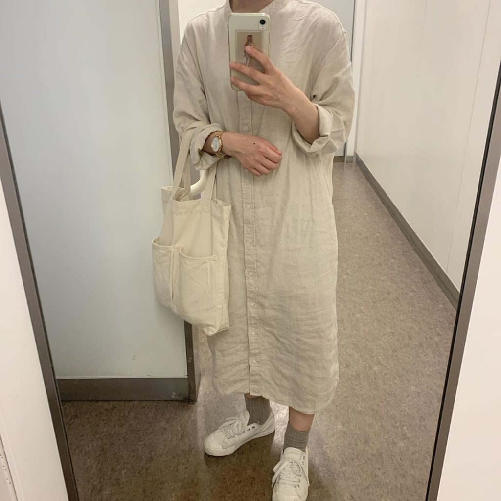 Japanese clothing - mirror selfie