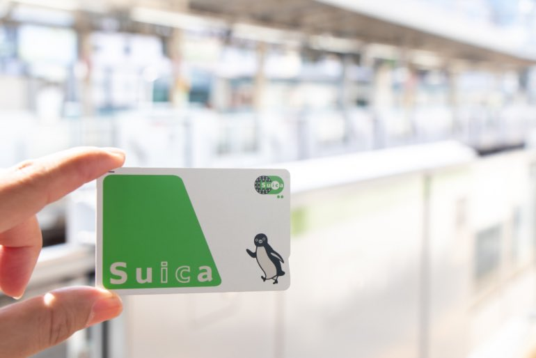 Japanese loanwords - suica card