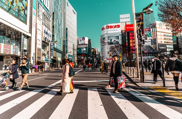 Japanese loanwords - zebra crossing in japan
