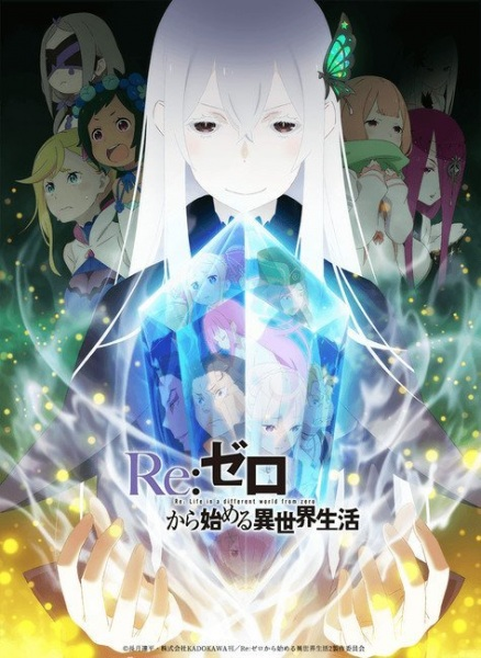 New Anime Winter 2021 6 - re zero starting life in a new world