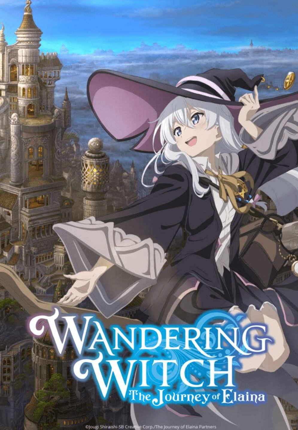 Best Anime 2020 38 - wandering witch the story of elaina