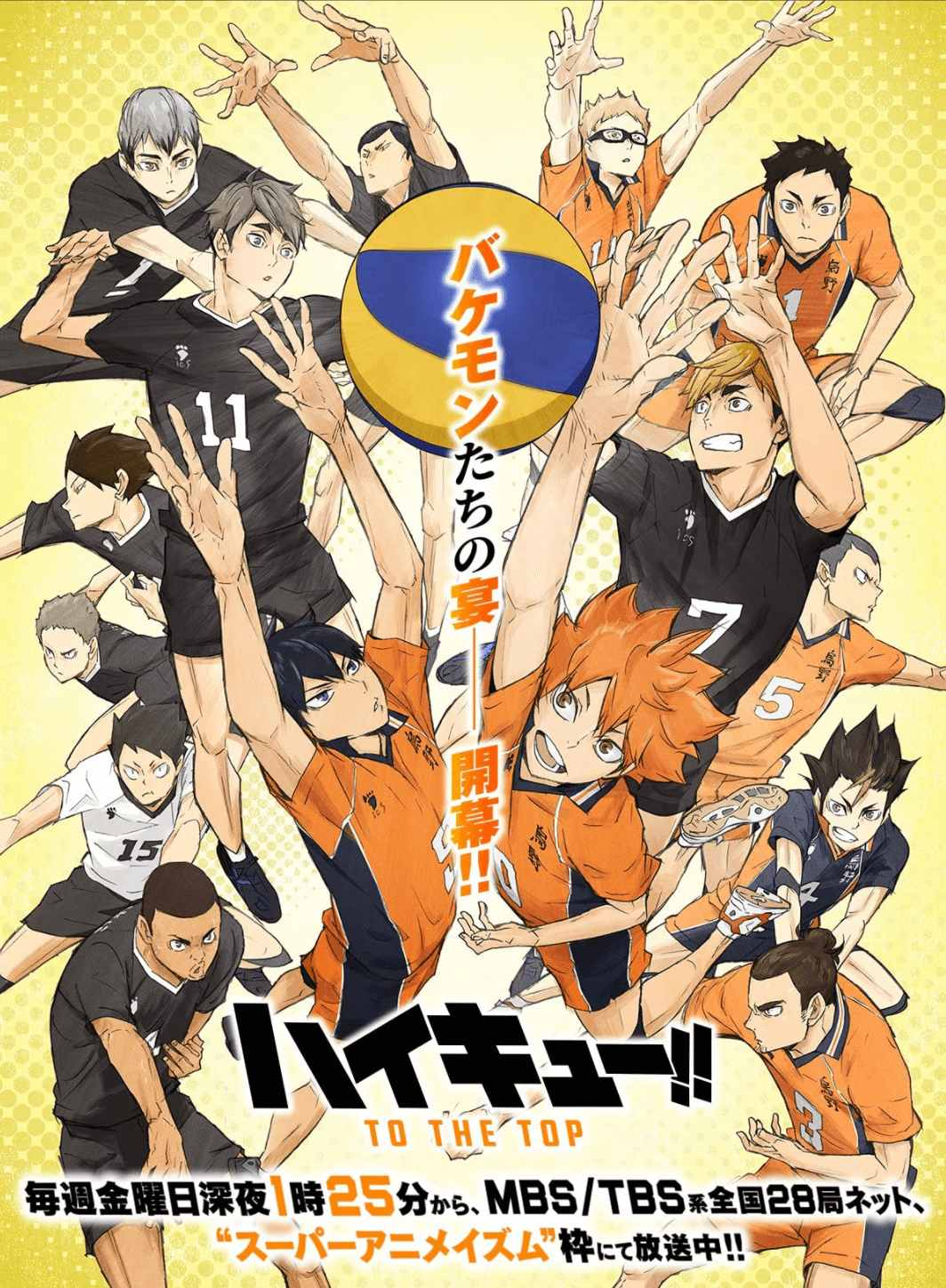 Best Anime 2020 4 - haikyuu to the top part 2