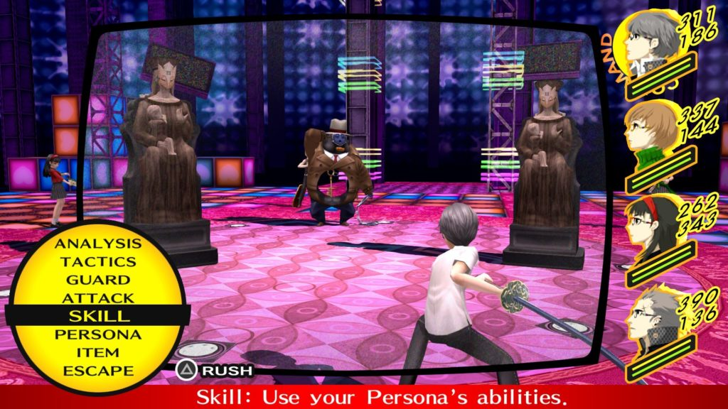 Japanese video games - Persona 4 Golden