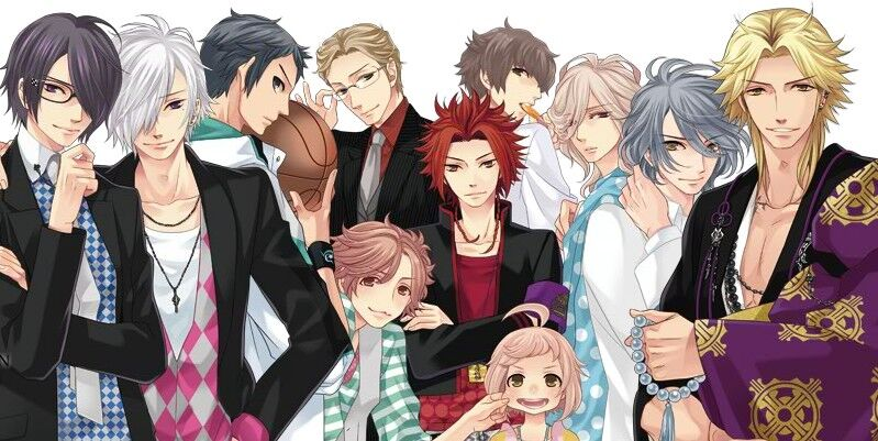 otome games - brothers conflict