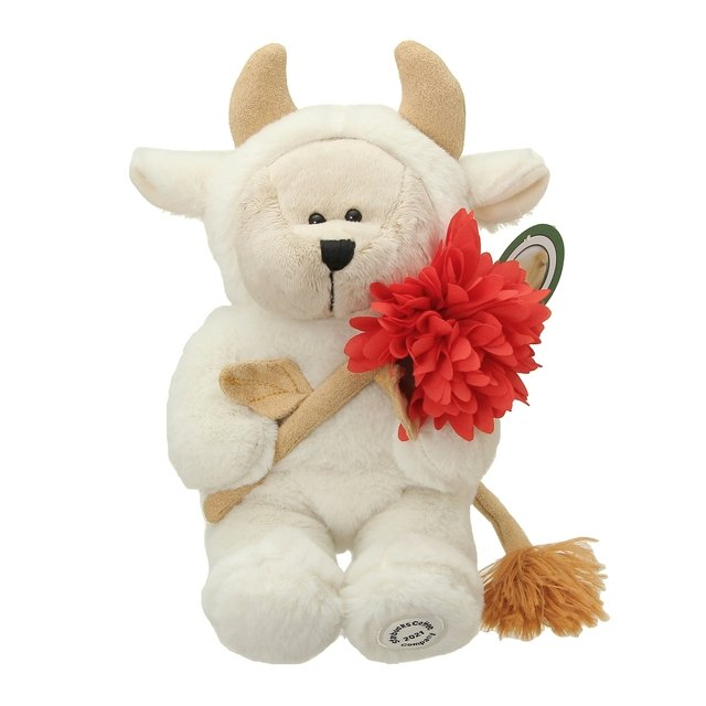 Starbucks Japan New Year 2021 - bearista cow