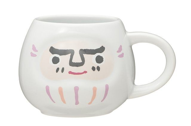 Starbucks Japan New Year 2021 - daruma mugs