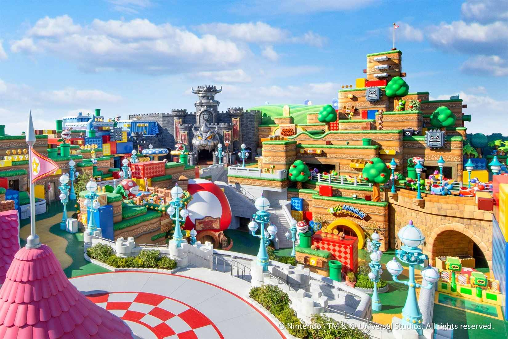 Super Nintendo World 2 - 2021 opening