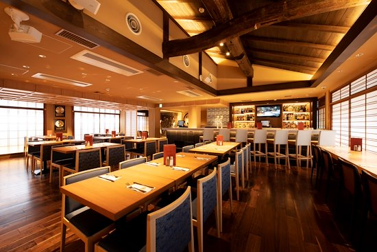 japan cafes heritage buildings - hard rock cafe kyoto interior