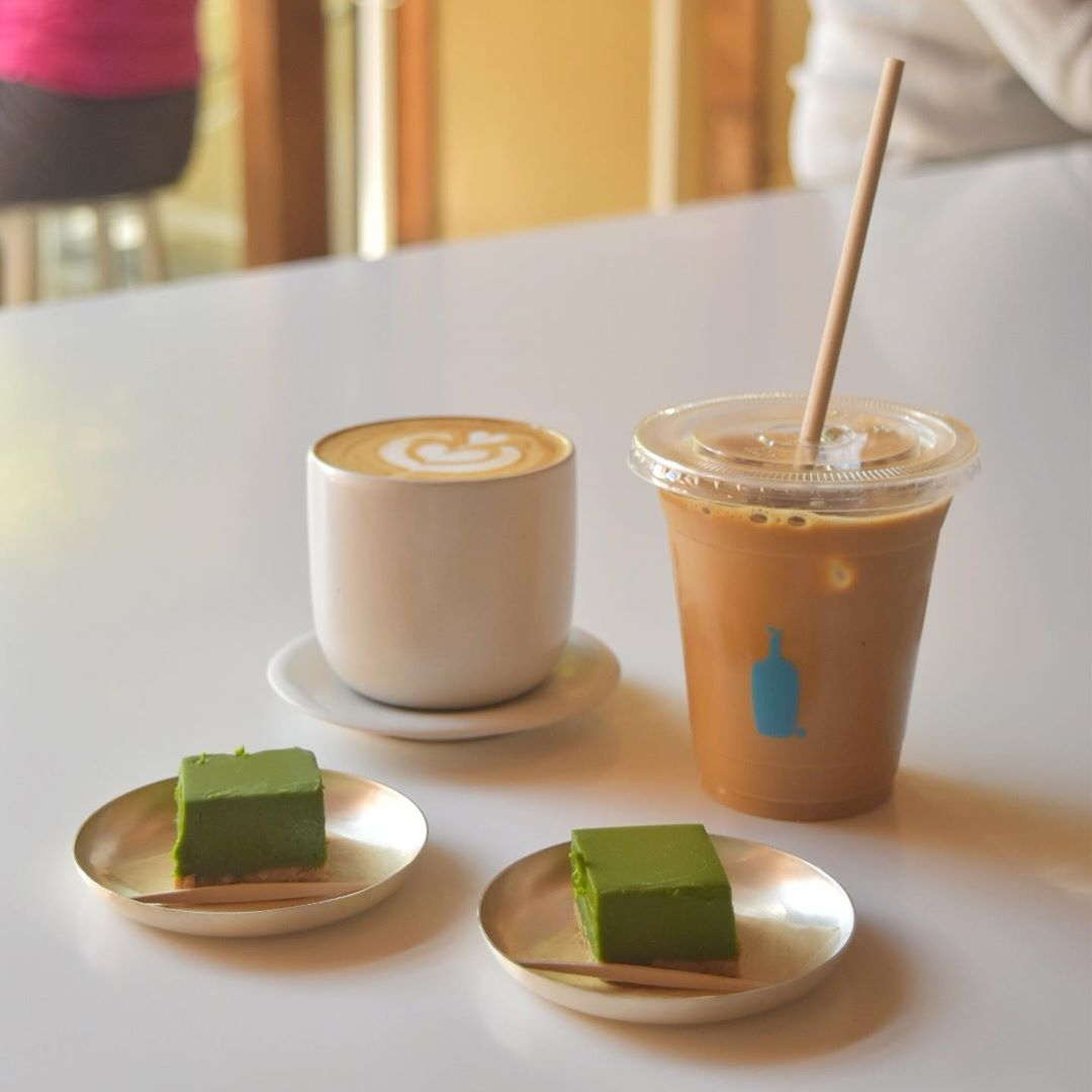 japan cafes heritage buildings - blue bottle kyoto food