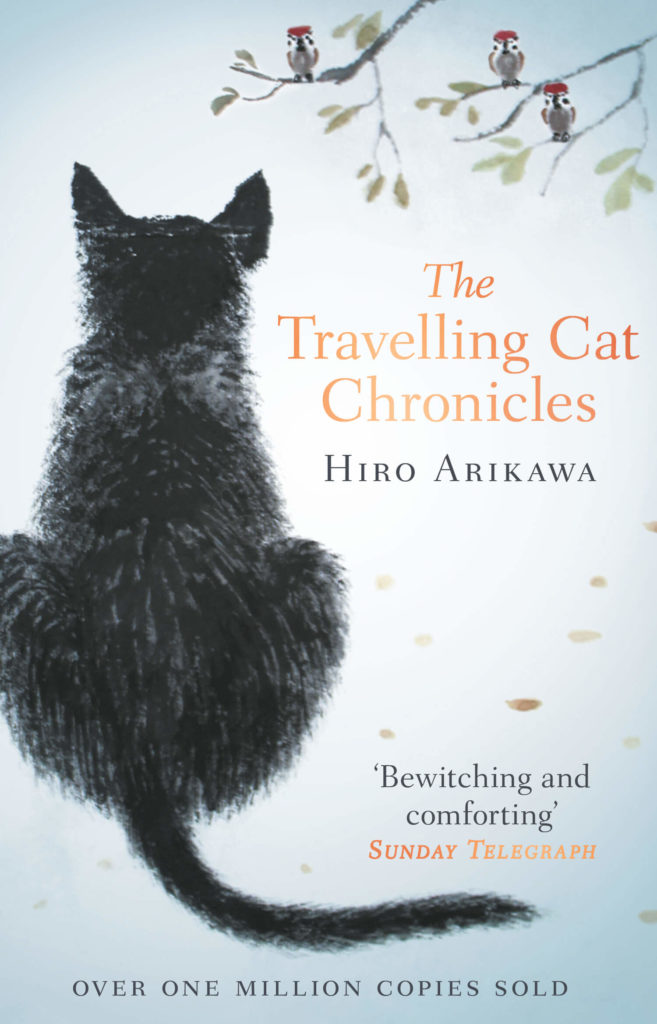 Japanese books - the travelling cat chronicles
