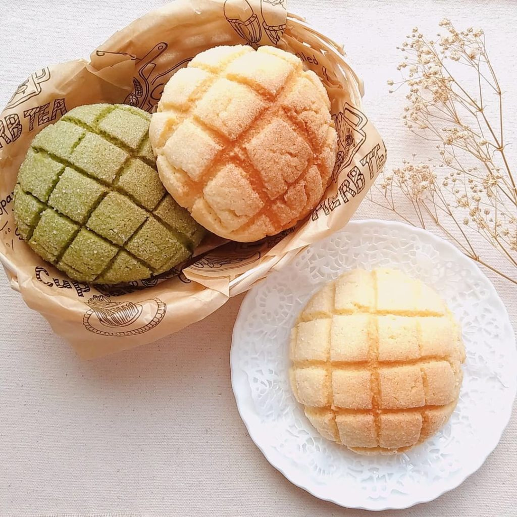 Japanese bread recipes - melon pan