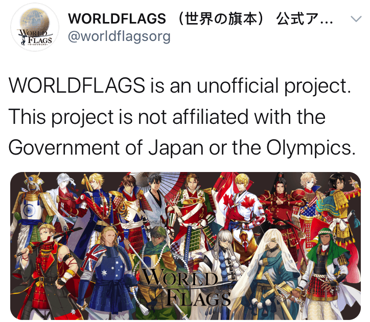 country flag gijinka - world flags not affiliated