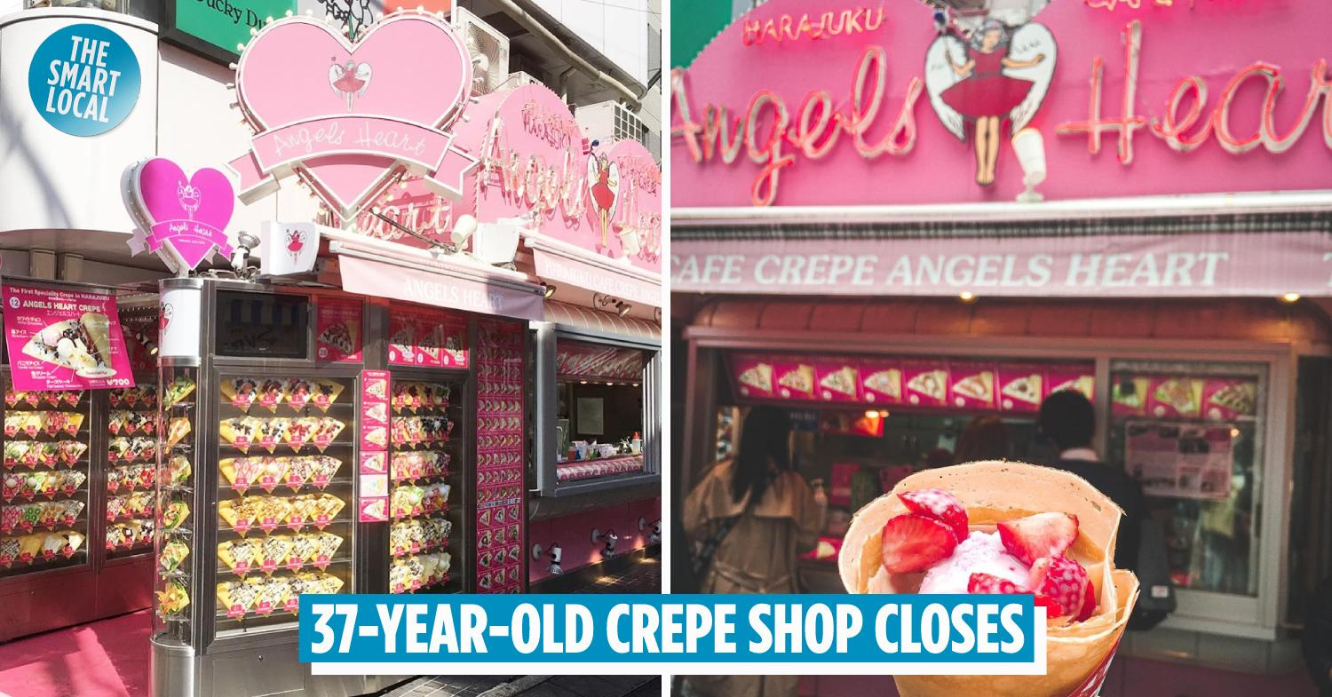 Cafe Crepe Angels Heart In Harajuku Closes After 37 Years