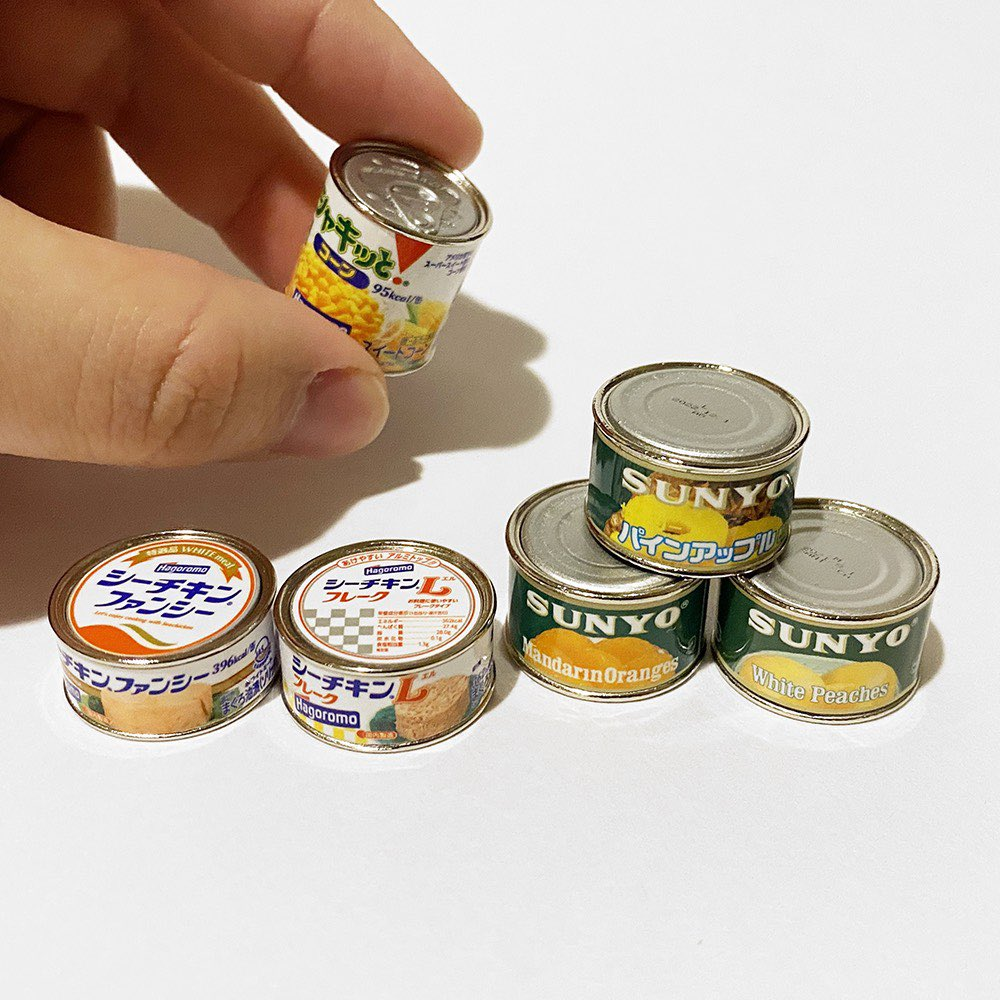 Canned food rings - 6 designs of canned food rings