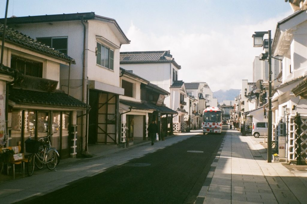 Traditional Japanese towns - nakamachi