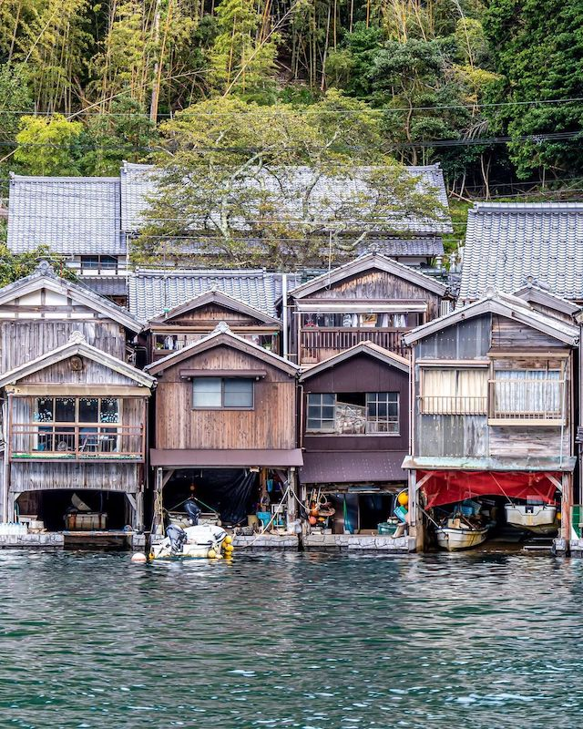 Traditional Japanese towns - ine
