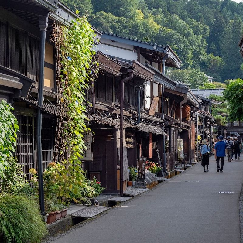 Traditional Japanese towns - old town takayama