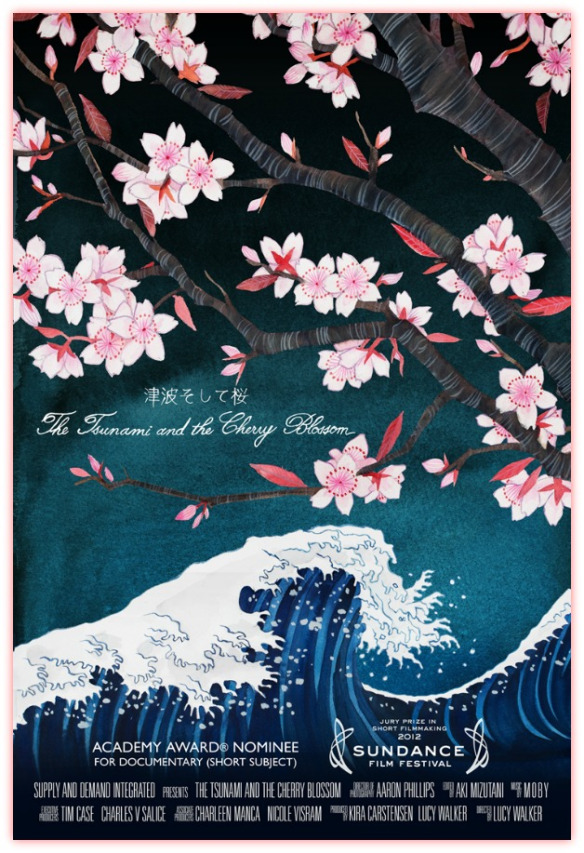 Japanese documentaries - The Tsunami and the Cherry Blossom poster