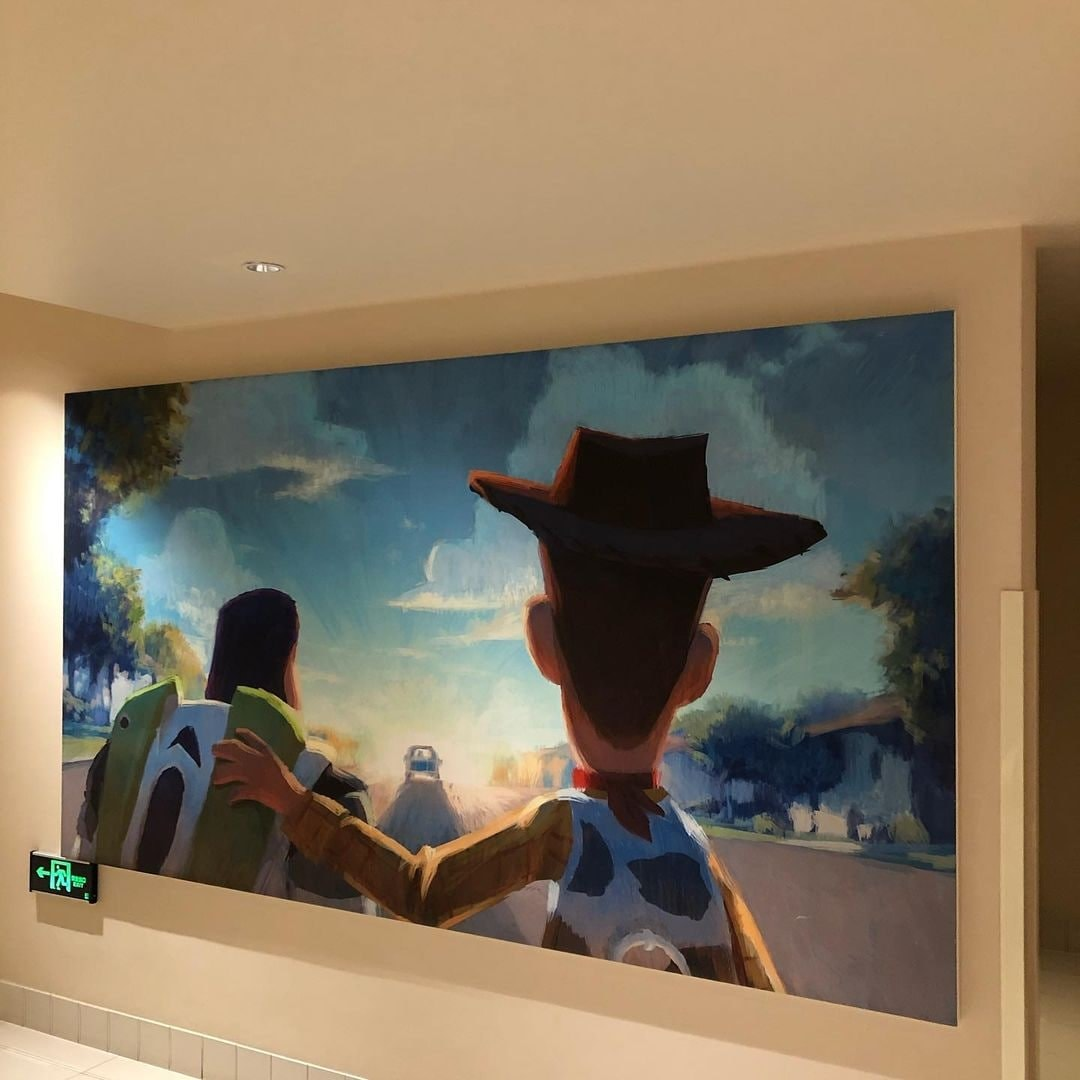 Tokyo Disney Toy Story Hotel - Poster of Woody and Buzz