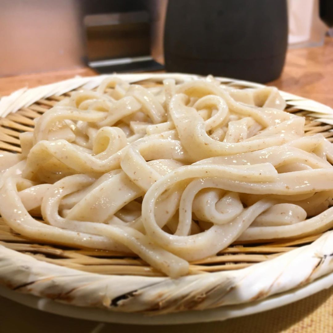 types of udon - plated musashino udon