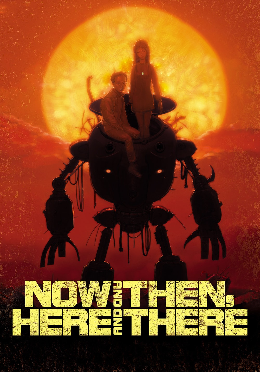 post-apocalyptic anime - Now and Then, Here and There