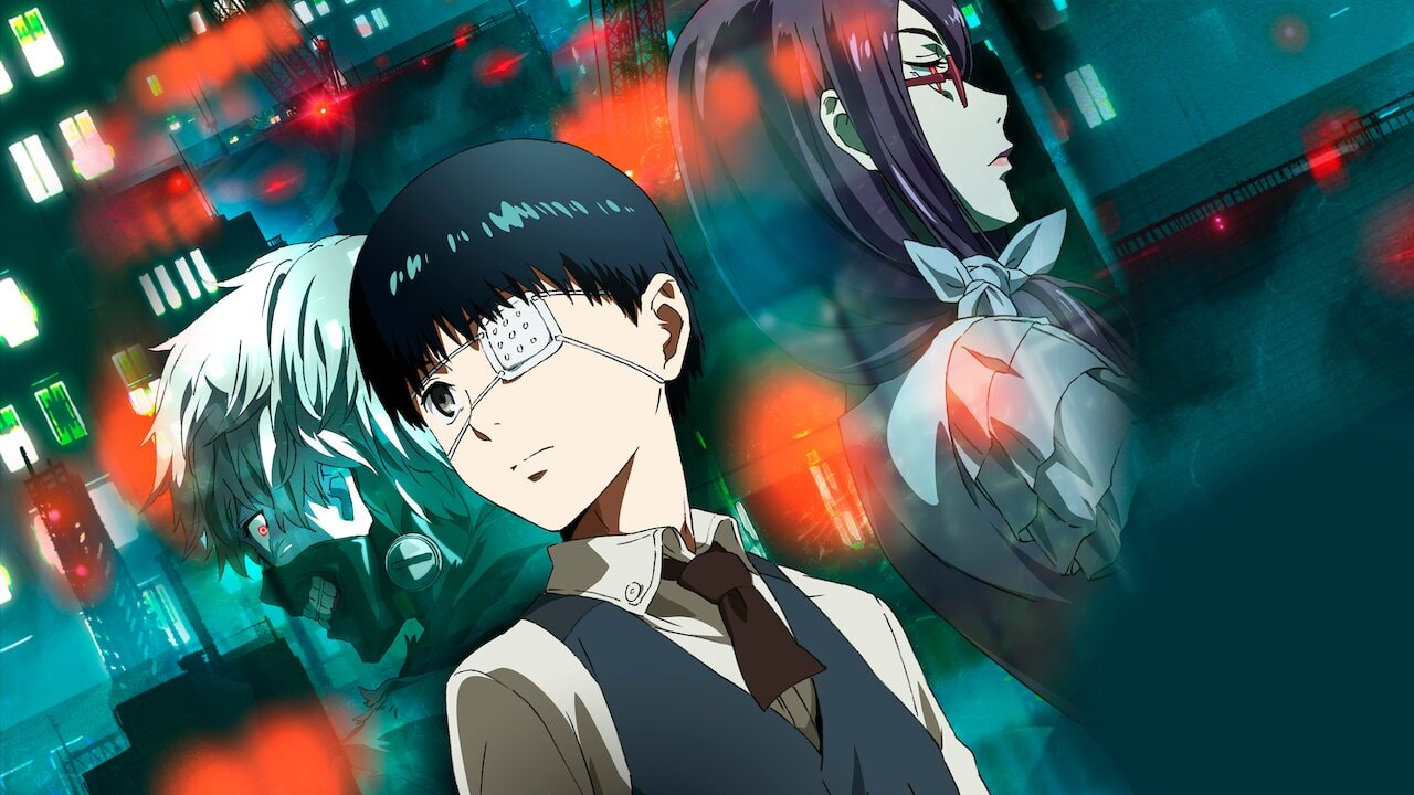 post-apocalyptic anime - Tokyo Ghoul