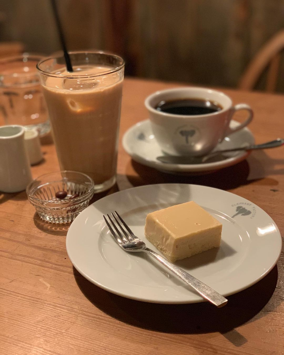 Kyoto cafes - cheesecake