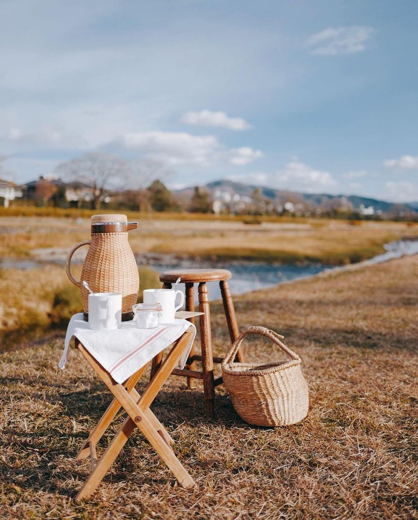 Kyoto cafes - outdoor